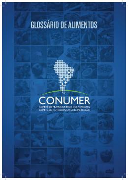 Glossario de alimentos - CONUMER