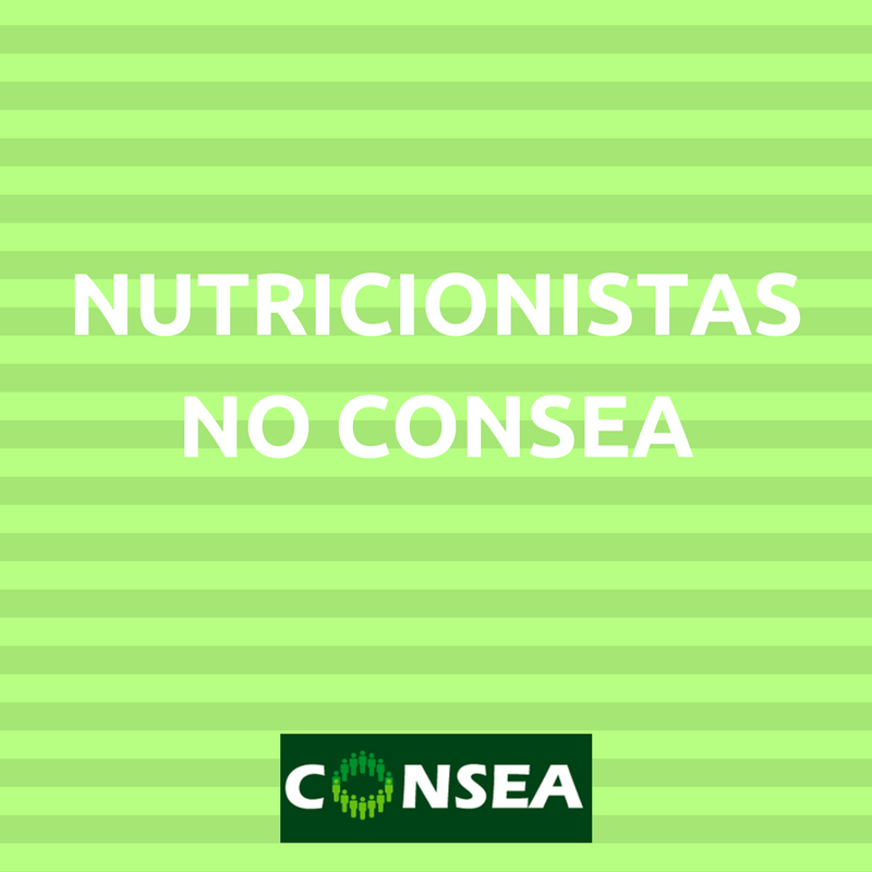 NUTRICIONISTAS NO CONSEA
