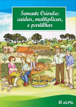 capa-Semente Crioula-  cuidar multiplicar e partilhar