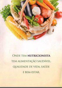 onde tem nutricionista 1 212x300 Cartilha   Onde tem nutricionista tem alimentação saudável, qualidade de vida, saúde e bem estar 2015.