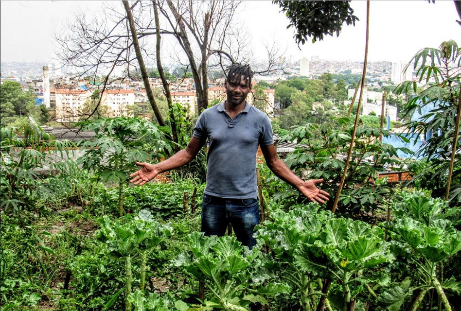 Wagner Gonçalves Ramalho, criador do Prato Verde Sustentável | Foto: Priscila Gomes/Agência Mural/Folhapress