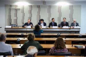 Comissão Mista sobre a MP 870/19, que estabelece a organização básica dos órgãos da Presidência da República e dos Ministérios | Foto: Samuel Figueira/Câmara dos Deputados