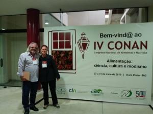 Élido Bonomo e Liliana Paula Bricarello no IV Conan em Ouro Preto (MG). Foto: Divulgação