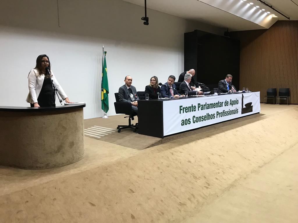 RITA DISCURSA NO LANÇAMENTO DA FRENTE PARLAMENTAR CONSELHOS PROFISSIONAIS